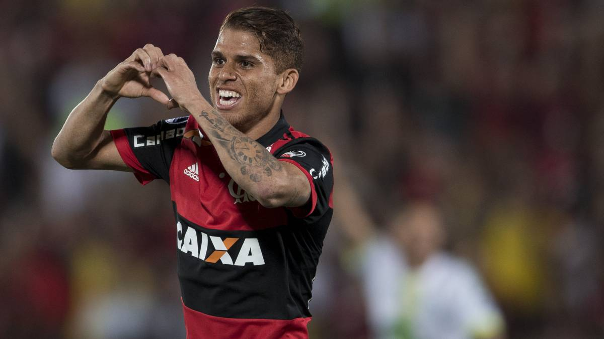Flamengo supera al campeón del Brasileirao Corinthians