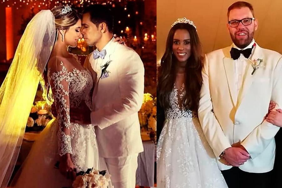 Así fue la boda de Camila Chaín con Kelly Barrios