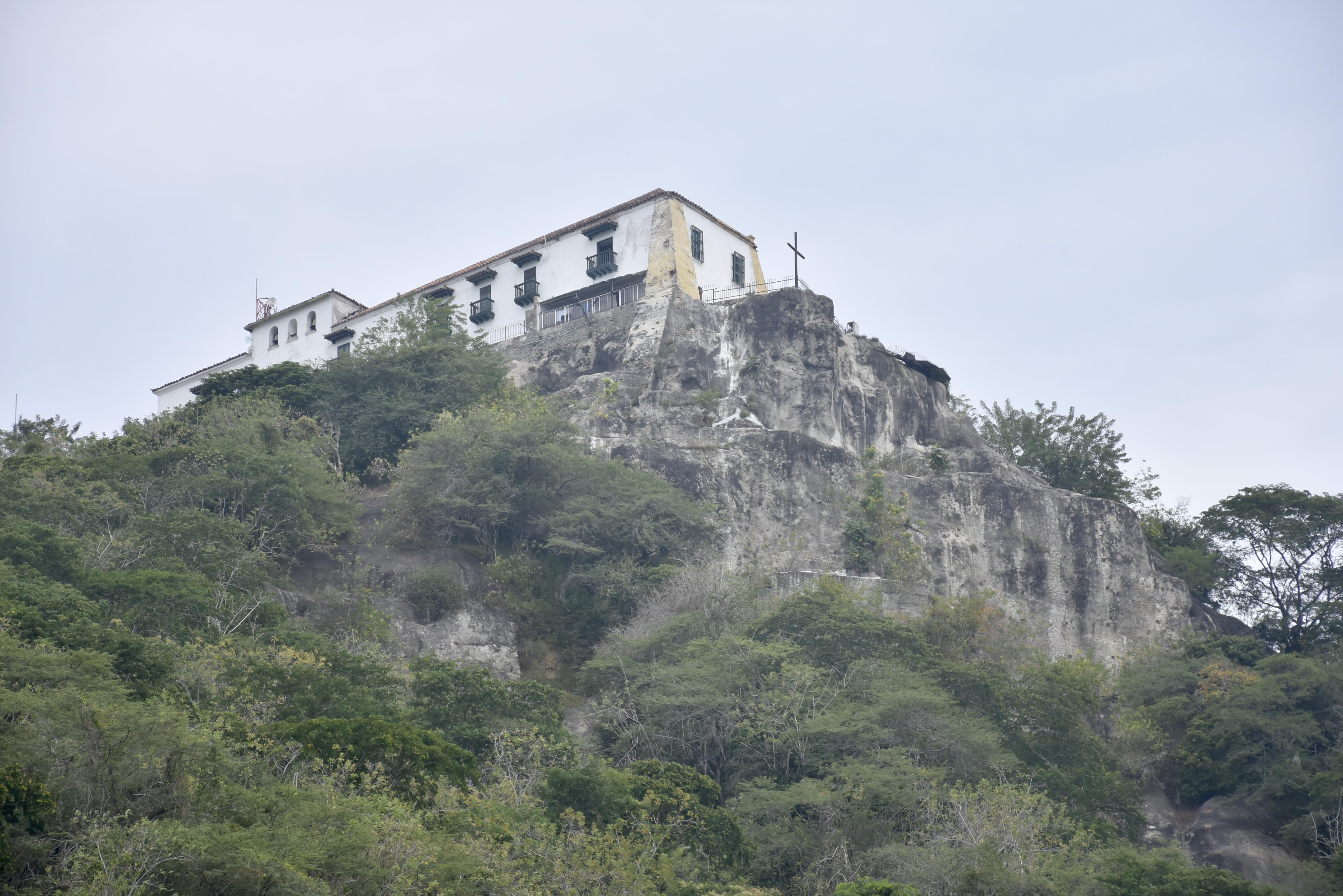 El Cerro de La Popa en Cartagena necesita una urgente intervención.