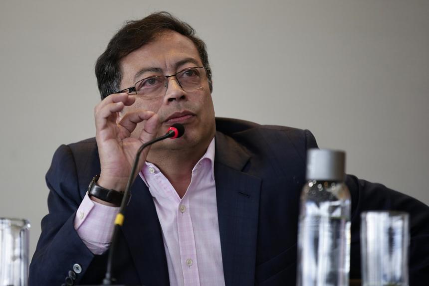 Gustavo Petro asegura que Colombia tiene una oportunidad histórica para consolidar la paz.