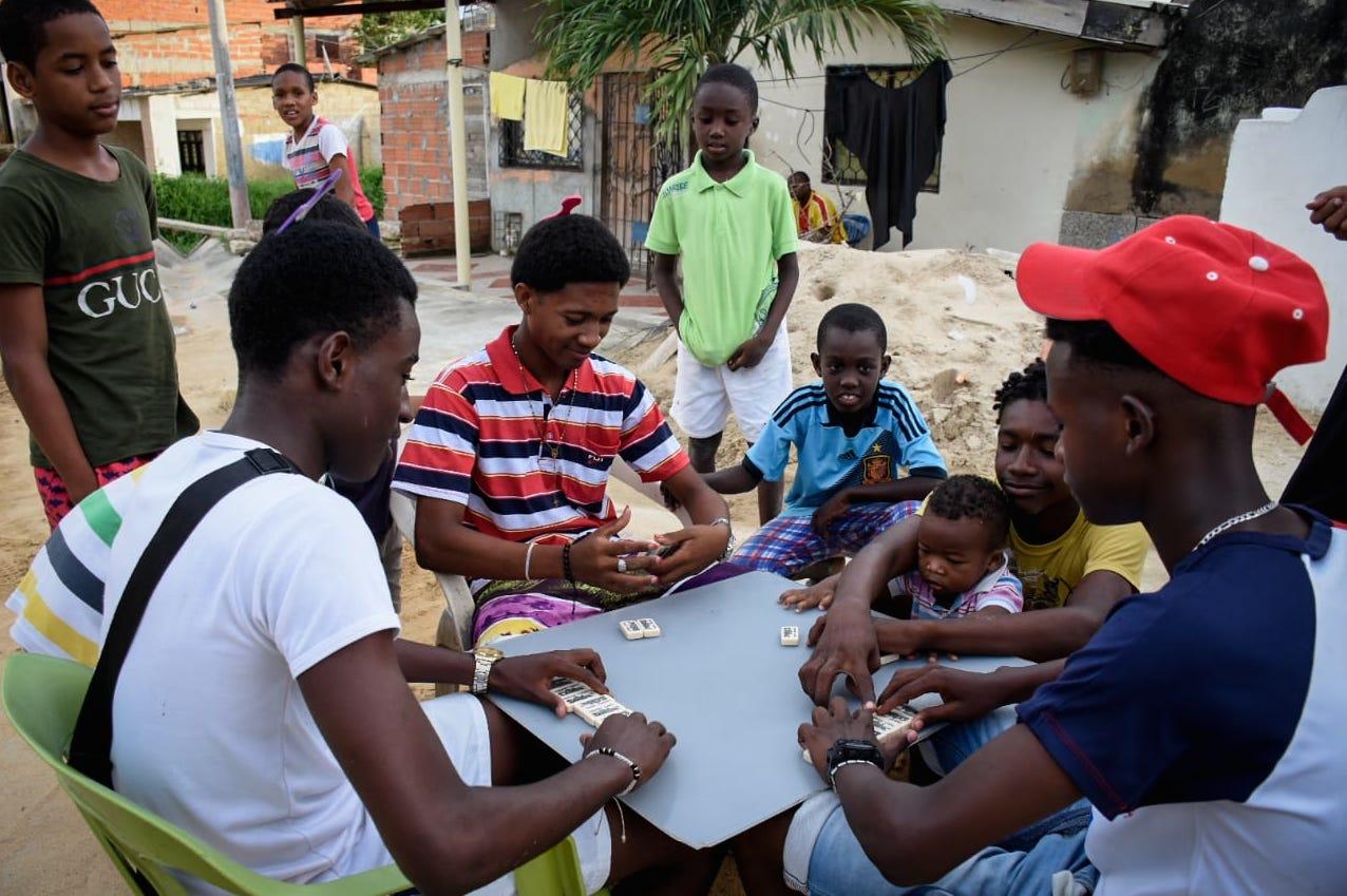 En el barrio Nueva Colombia habita la mayoría de la población afro en la ciudad.