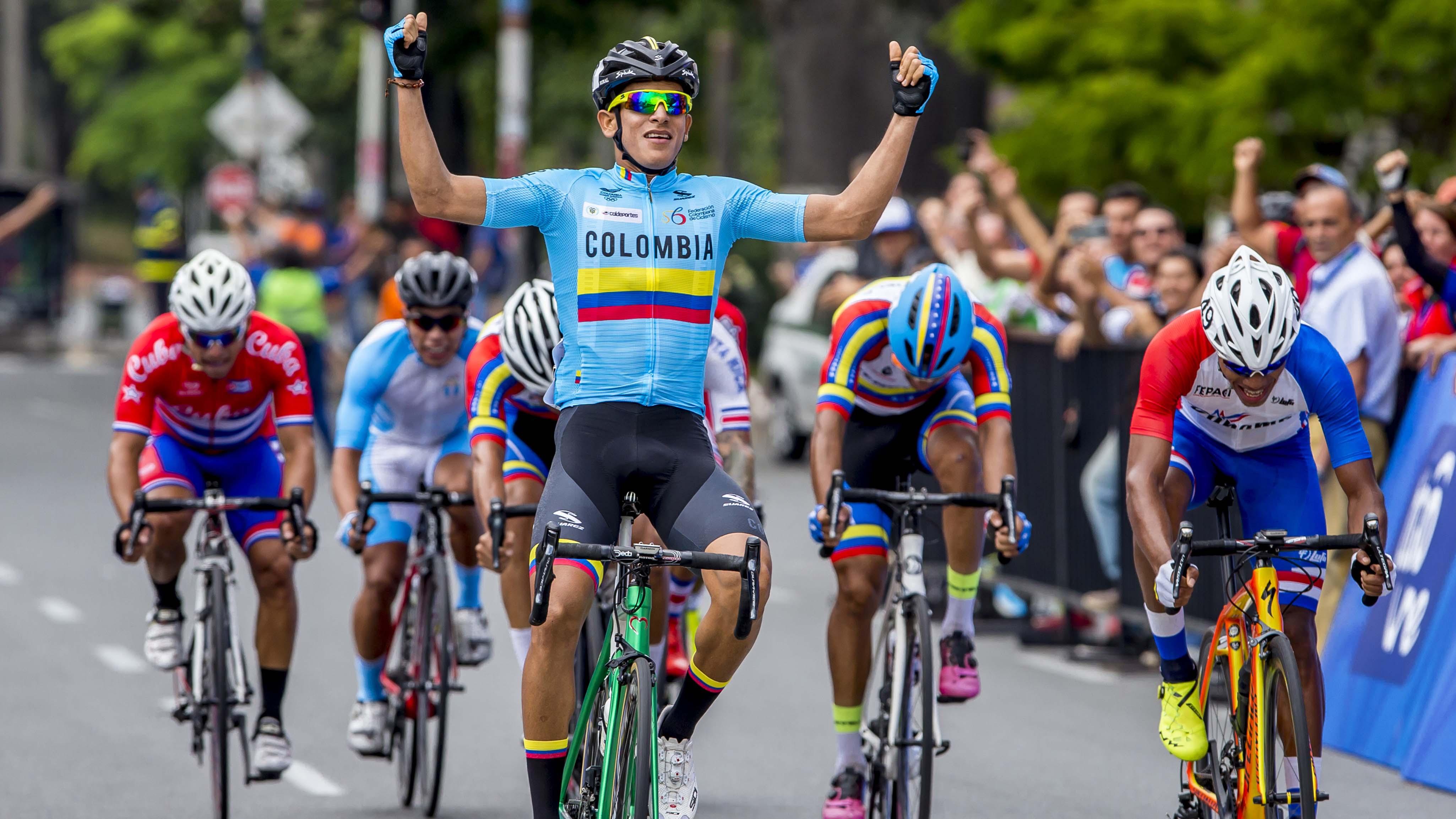 El ciclista barranquillero Nelson Soto ganó una medalla de oro en los Juegos Centroamericanos y del Caribe.