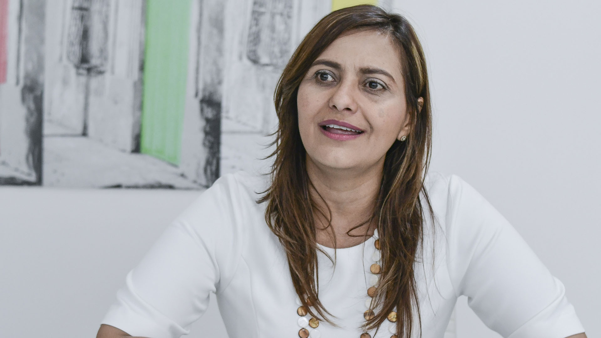 Claudia Da Cunha Tcachman, rectora de la Uniautónoma.