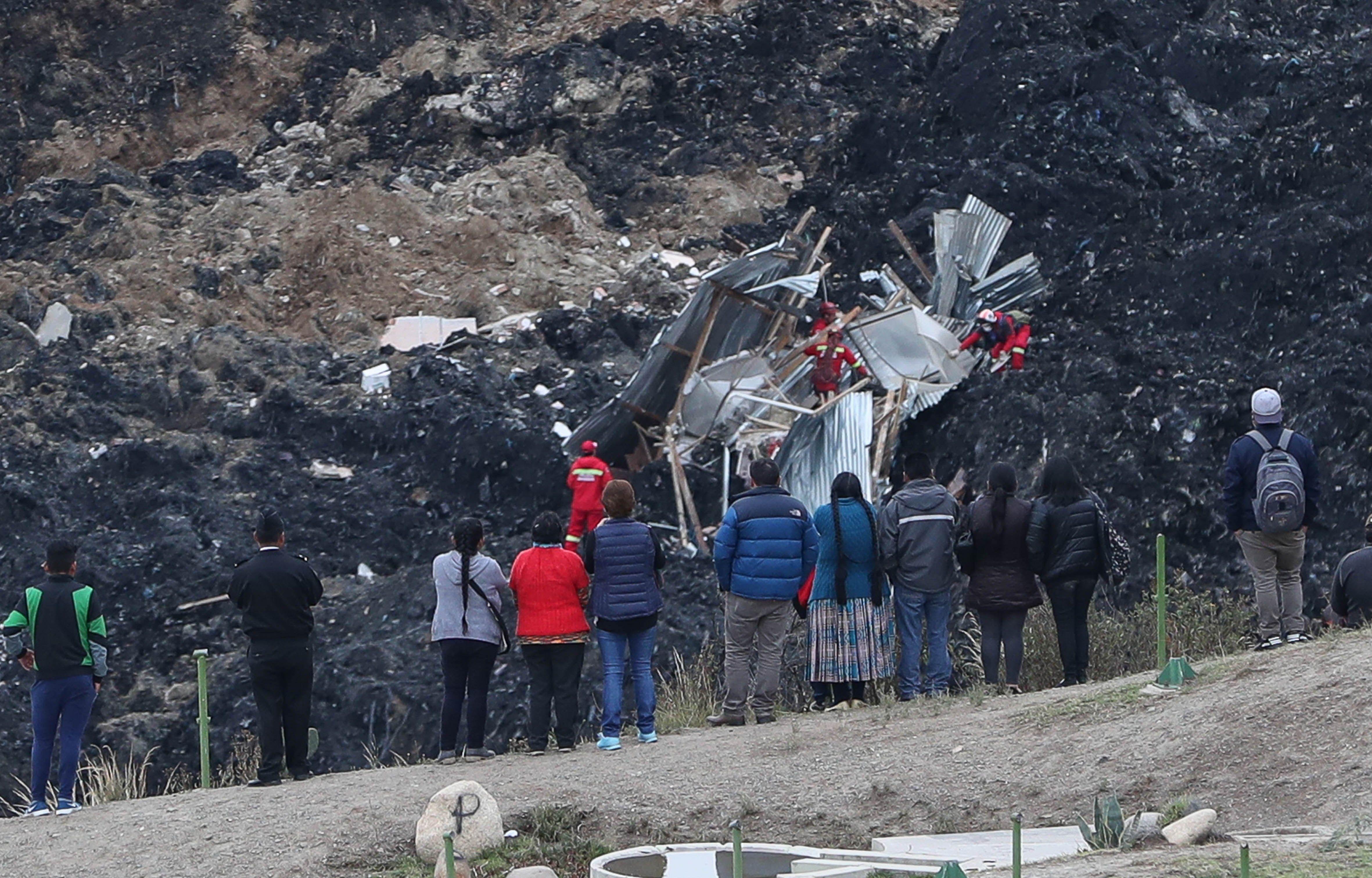 En Video La Impactante Caida De Casas Por Deslizamientos En