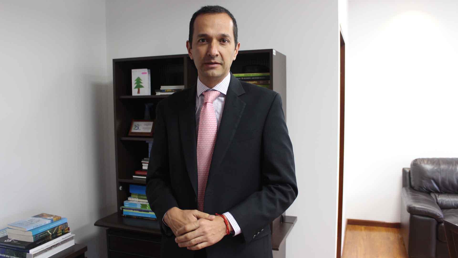 Rodrigo Suárez Castaño, director de la Autoridad Nacional de Licencias Ambientales.