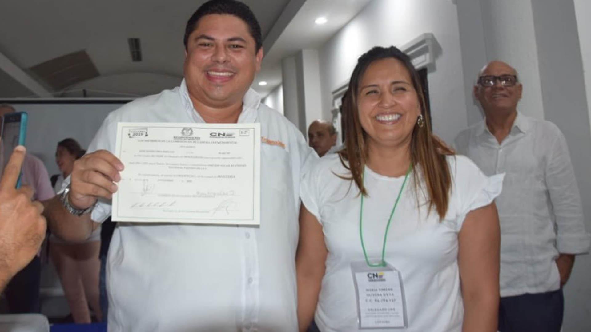 José David Cura es el alcalde electo de Montelíbano - El Heraldo (Colombia)