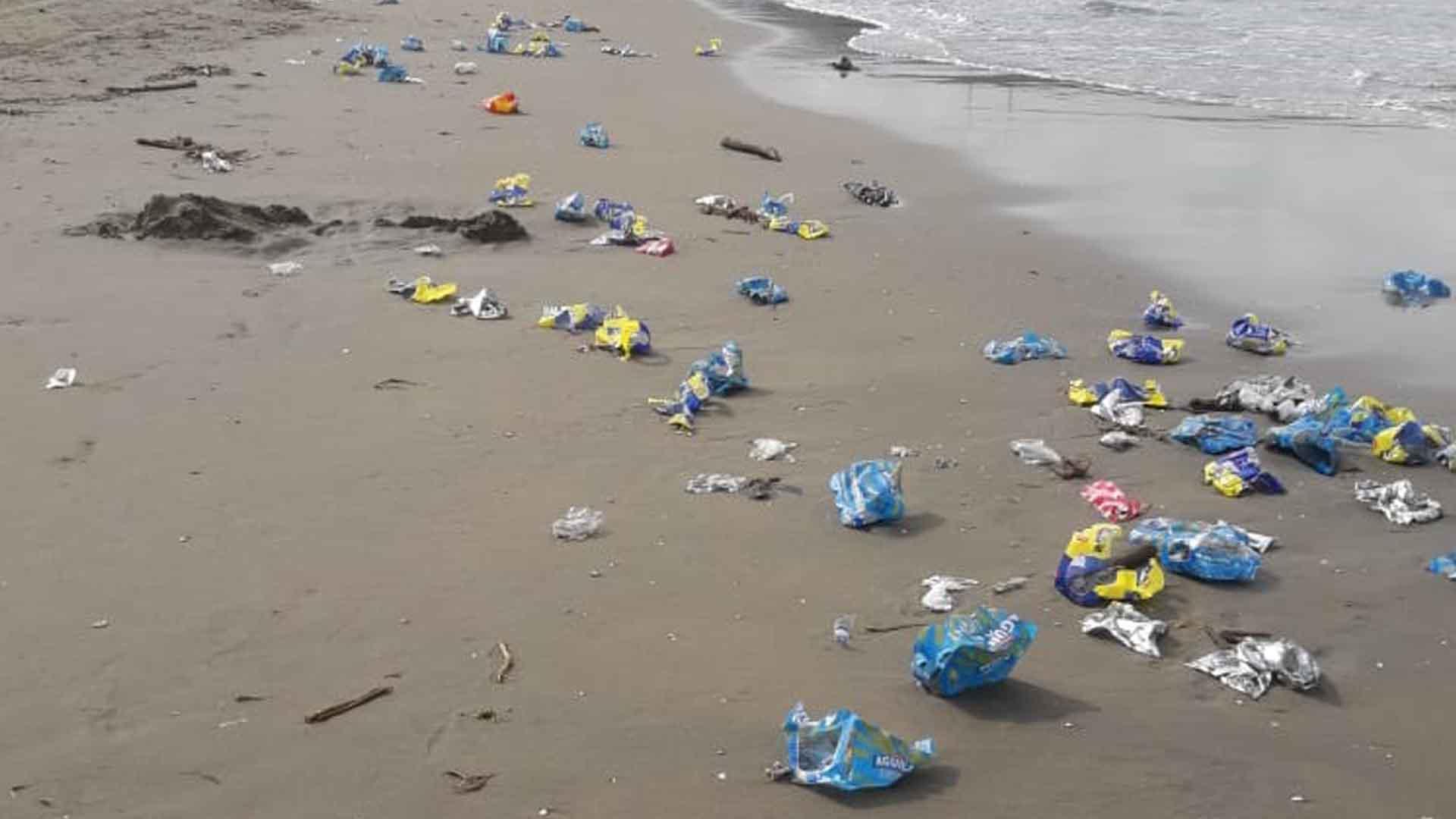 Nueva alerta por basuras en playas de Puerto Colombia - El Heraldo (Colombia)