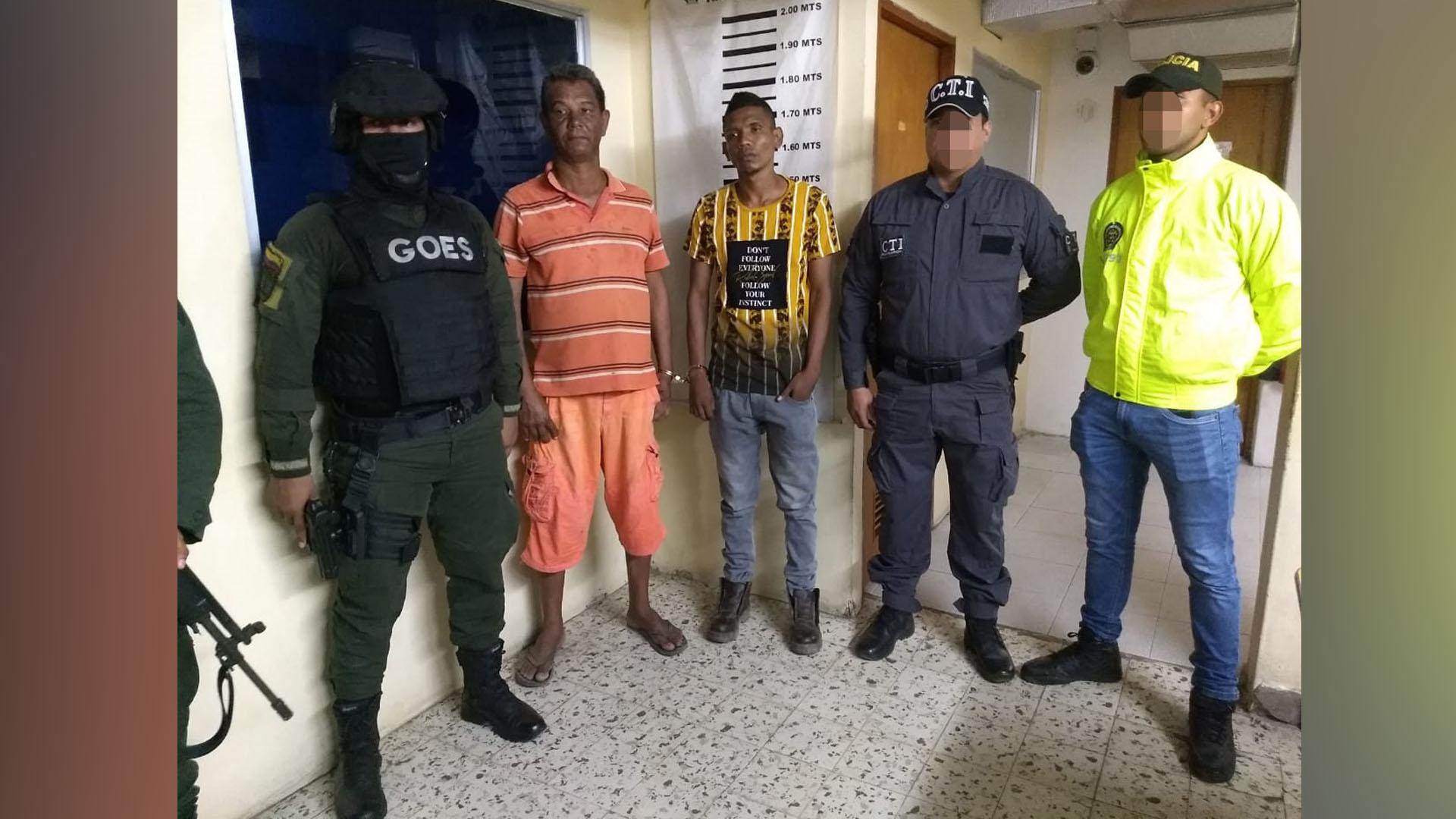 Capturan a dos con marihuana y un revólver en Magdalena - El Heraldo (Colombia)