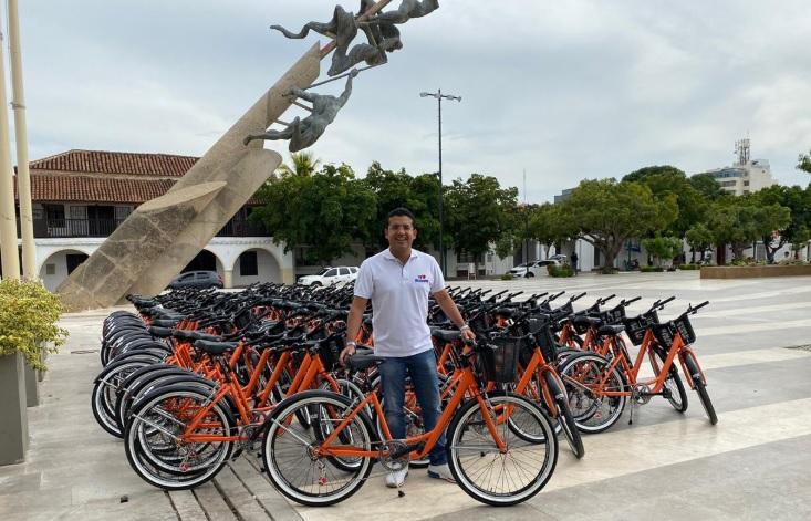 La Costa en breves | Valledupar estrena 80 bicicletas públicas - El Heraldo (Colombia)