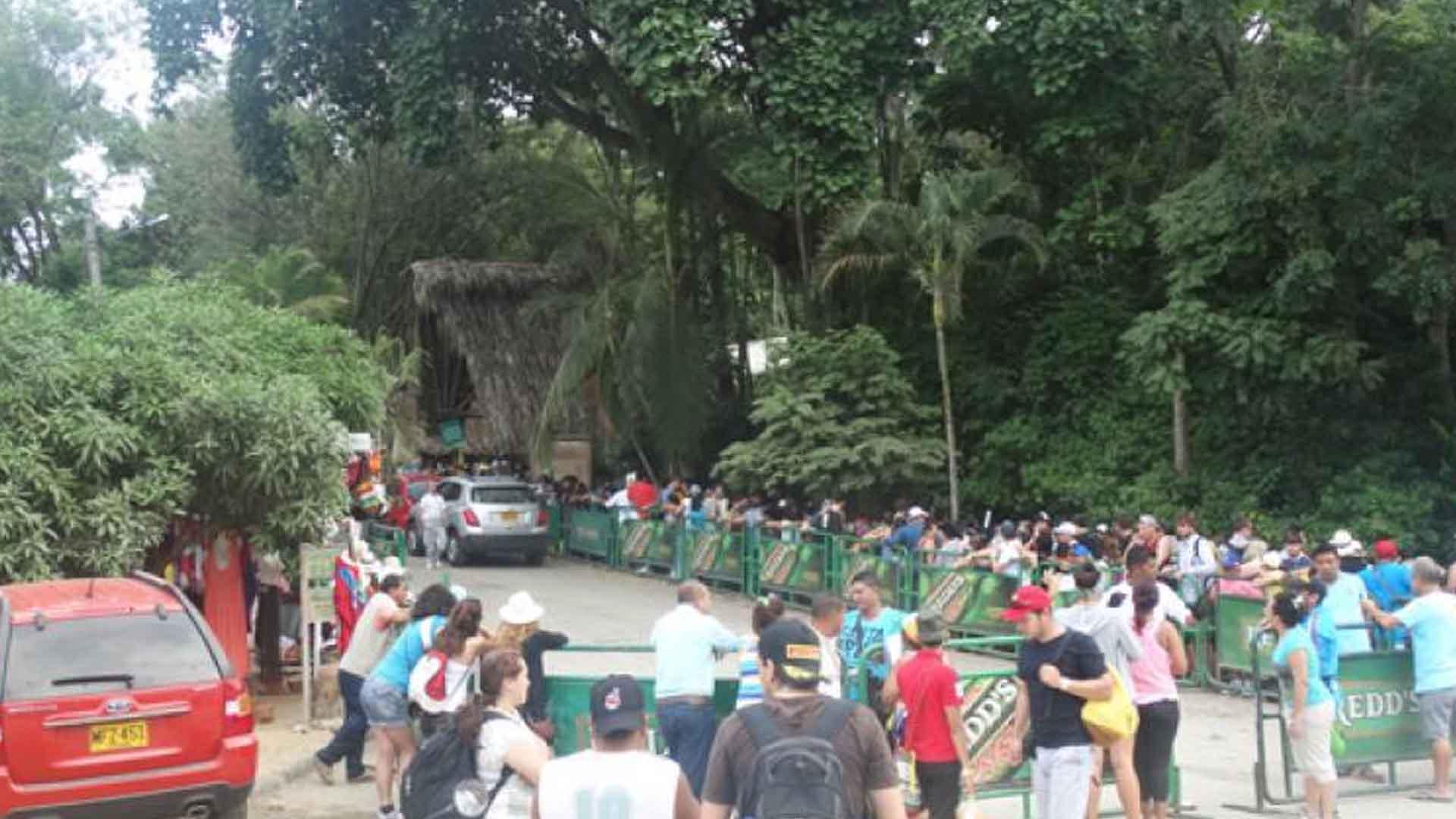Resultado de imagen para entrada parque tayrona