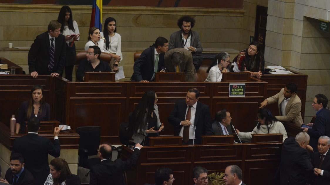 Plenaria de Cámara negó la ponencia de archivo de la reforma tributaria | El Heraldo