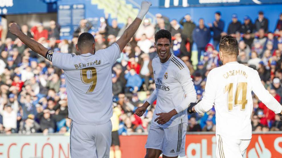 Varane y Courtois lideran al Real Madrid en su victoria en Getafe | El Heraldo