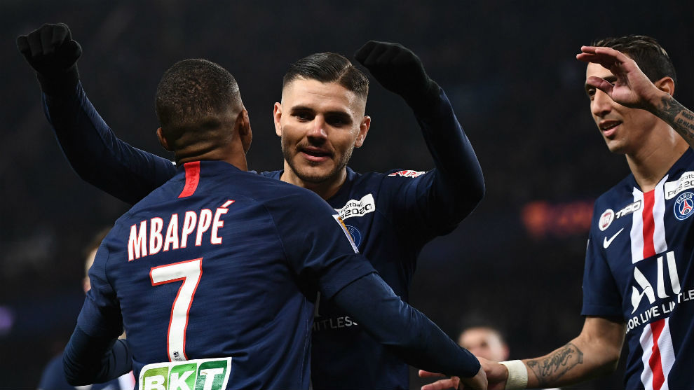 Icardi mete al PSG en semifinales de la Copa de la Liga francesa   El Heraldo