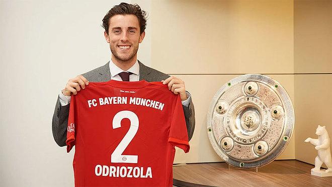 El Real Madrid cede a Odriozola al Bayern Múnich hasta final de temporada | El Heraldo