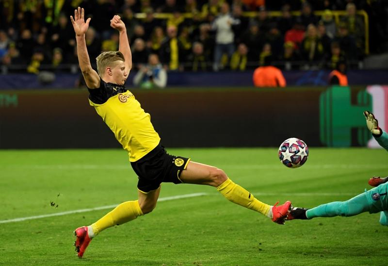 Borussia Dortmund golpea primero ante PSG con dos zarpazos de Haaland   El Heraldo