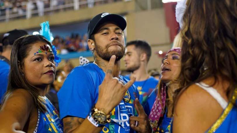 Neymar anuncia que no irá al carnaval de Brasil