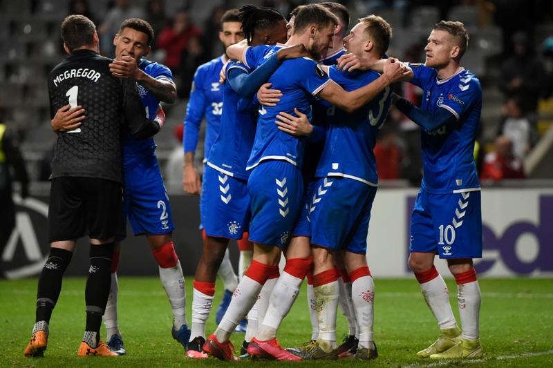 Glasgow Rangers, de Alfredo Morelos, primer clasificado para octavos de Europa League | El Heraldo