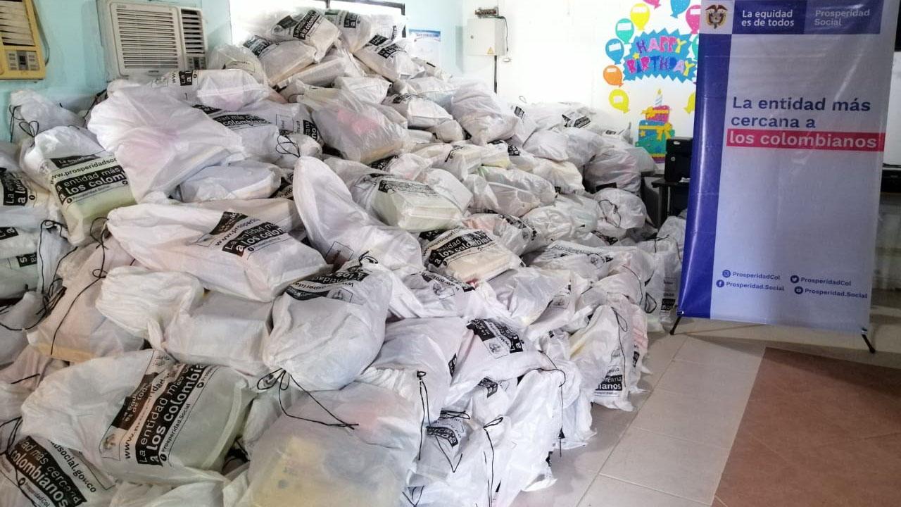 32 toneladas de alimentos decomisados serán repartidas en La Guajira | El Heraldo