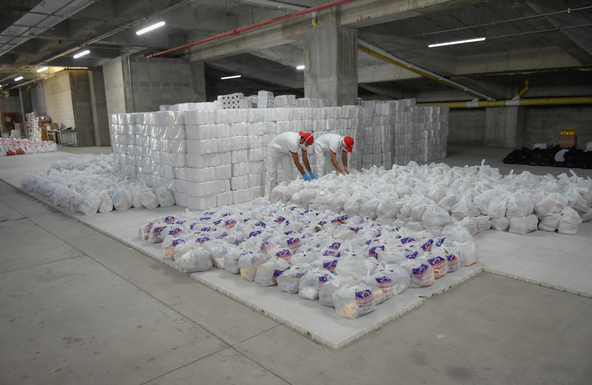 Los empresarios aúnan esfuerzos para brindar el apoyo que se requiere en abastecimiento de alimentos o en suministros médicos del sector salud.