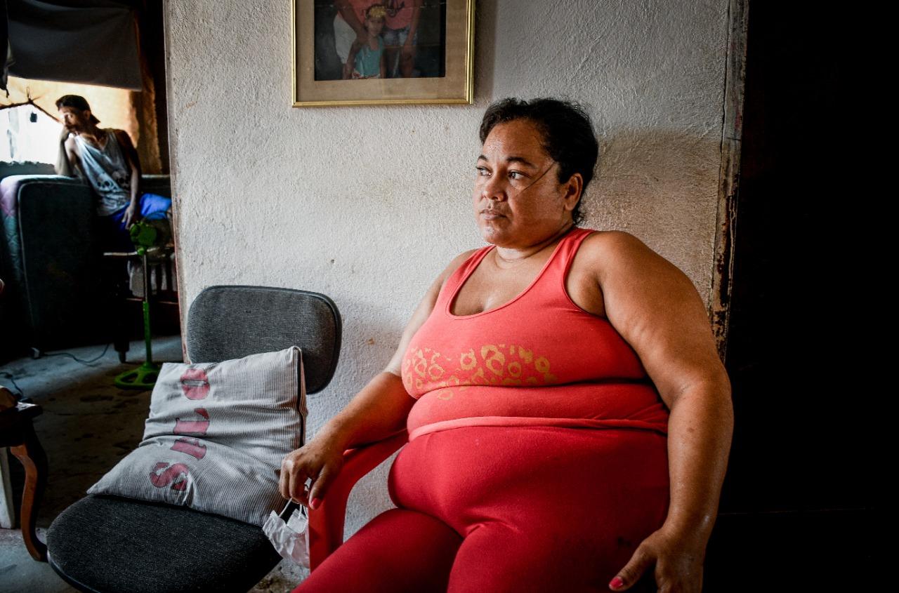 Guadalupe De la Hoz, espera volver a su trabajo.