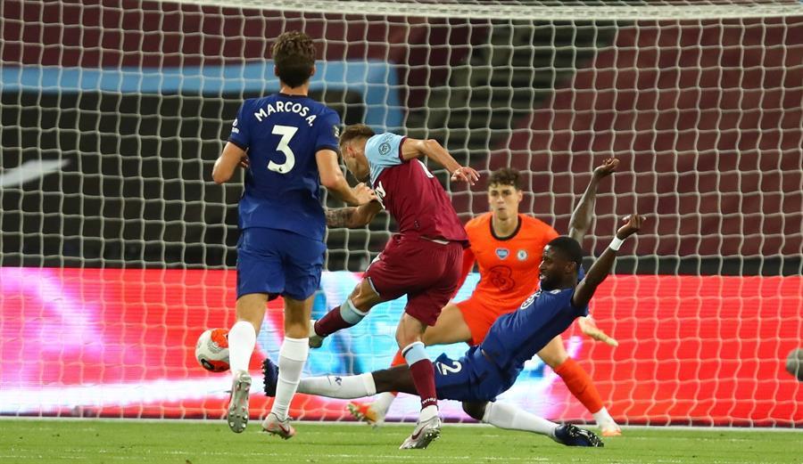 West Ham frena al Chelsea y aprieta lucha por cupo a Champions | El Heraldo