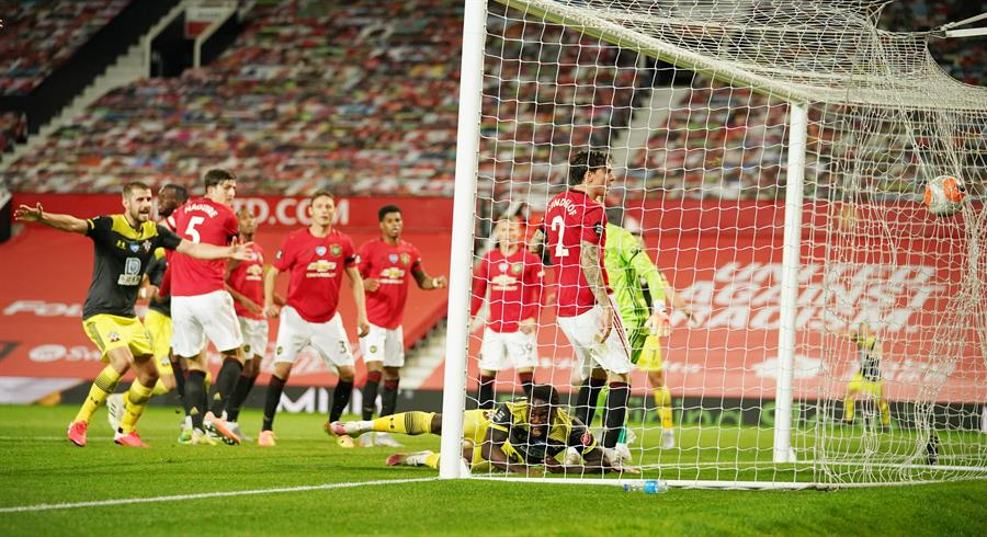 El Southampton le ahoga el grito de victoria Manchester United  | El Heraldo