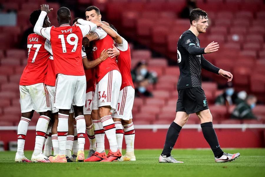 El Arsenal vence al Liverpool y lo deja sin récord | El Heraldo