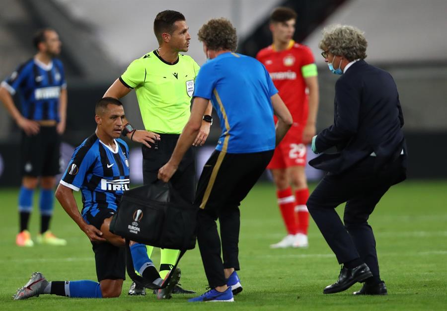 Conte confirmó la baja de Alexis Sánchez en la semifinal de Europa League | El Heraldo