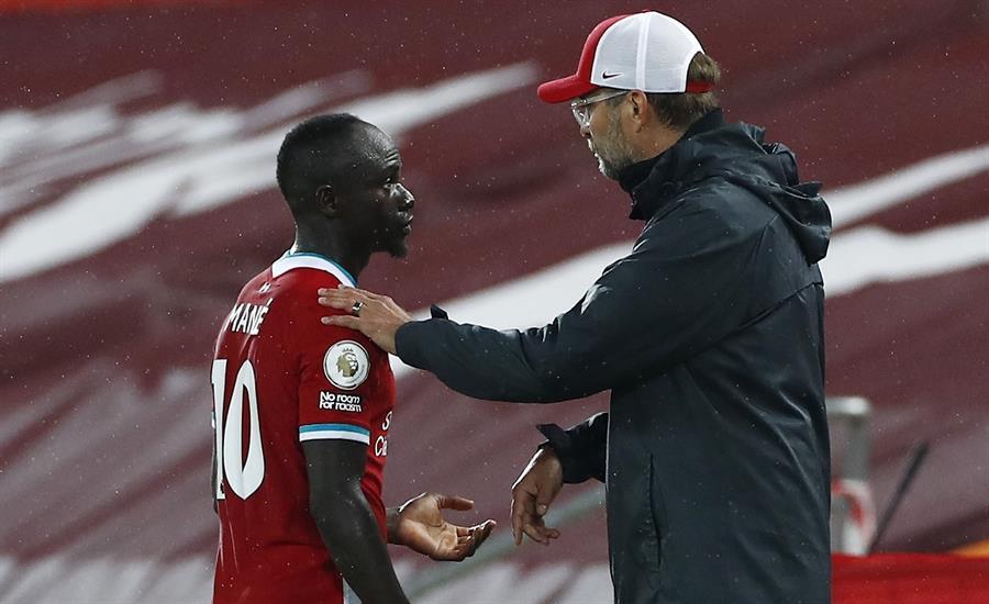Sadio Mané dio positivo por Covid-19 en el Liverpool | El Heraldo