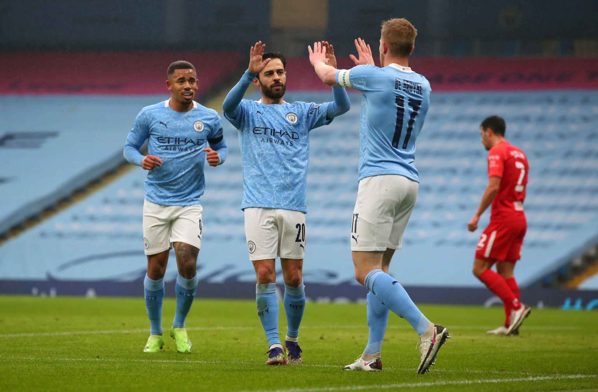 Manchester City firma su pase a dieciseisavos de FA Cup sin problemas | El Heraldo