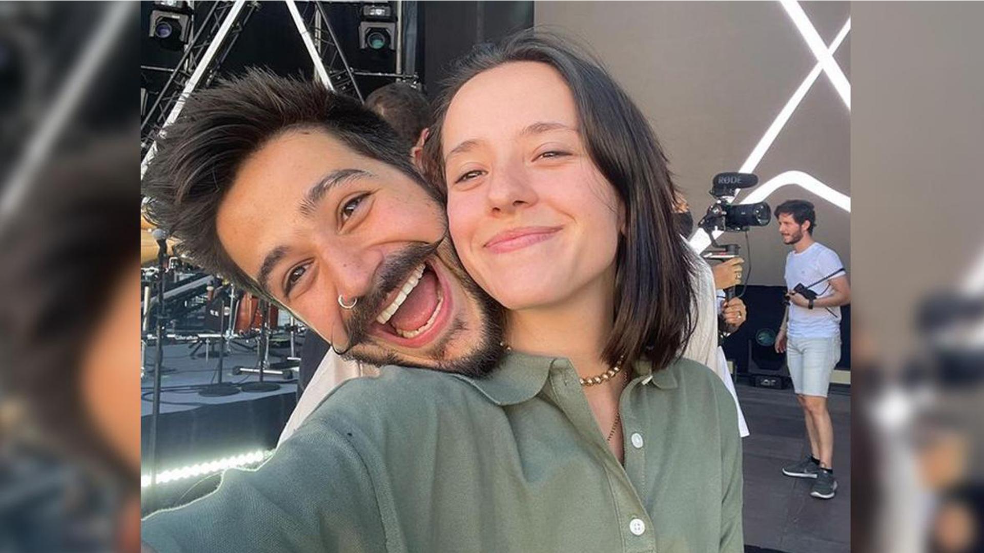 Camilo y Evaluna graban video de su nueva canción 'Índigo' en Mérida, España