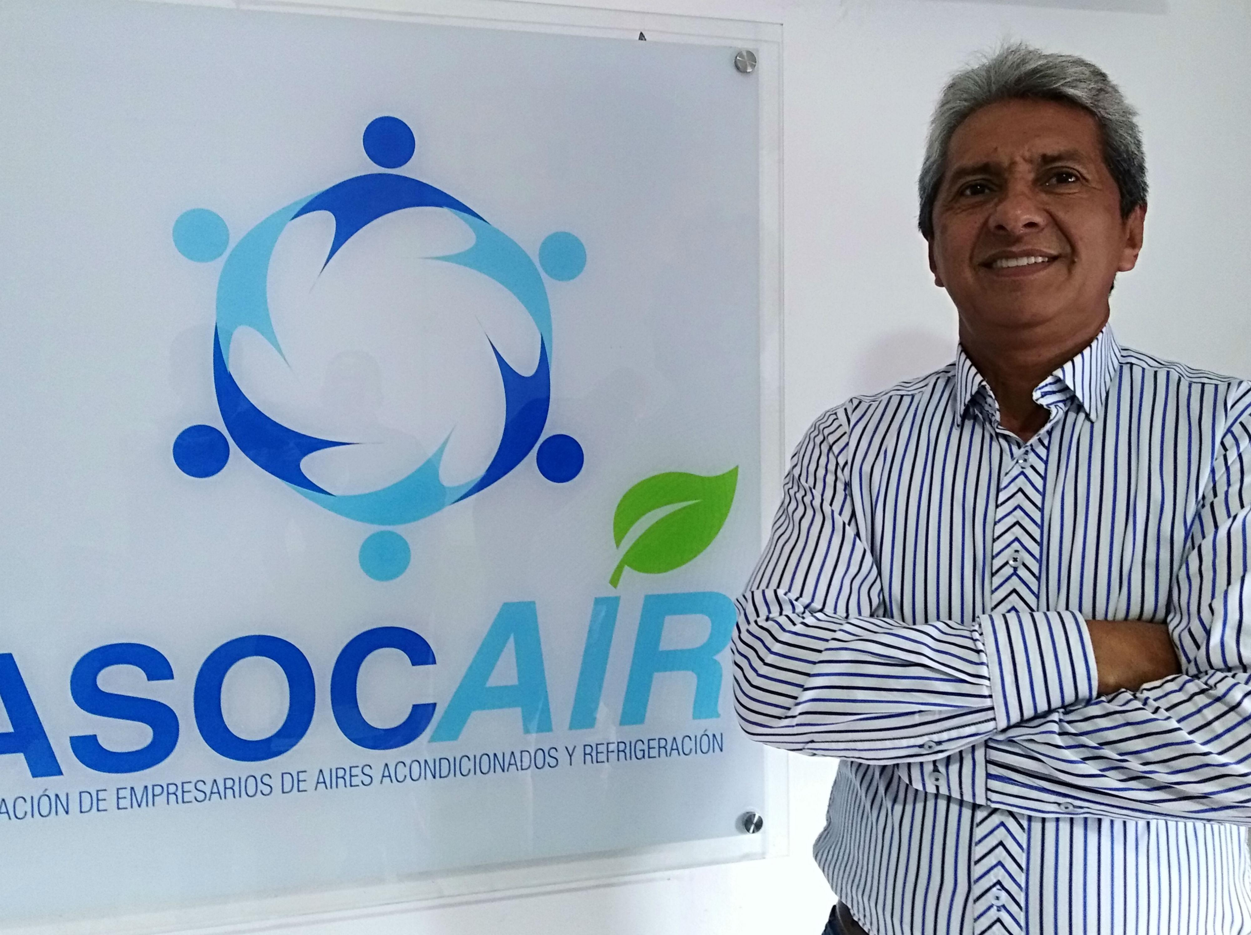 Rodolfo Moreno, presidente de Asocair