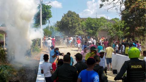 El 15 de enero una turba quiso tomar justicia por sus manos por el homicidio de un labriego en Luruaco.