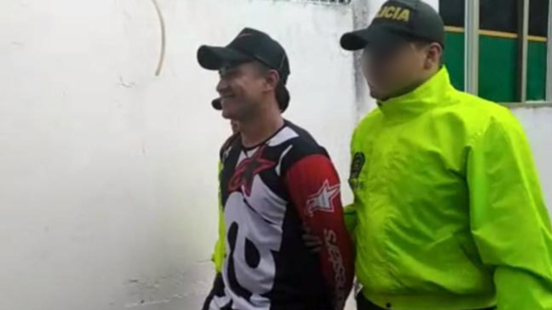 Alias Tamales fue capturado por la Policía.