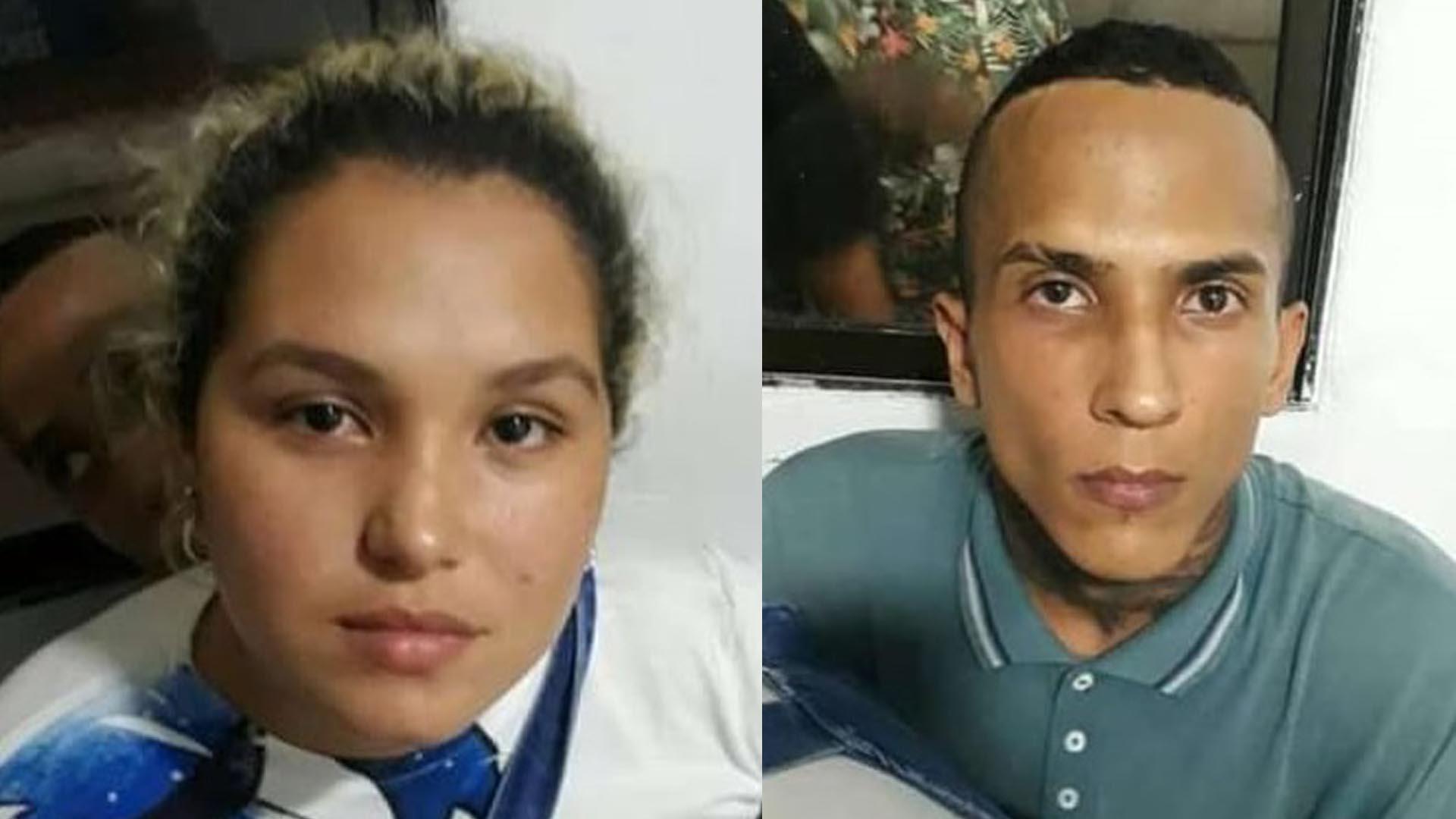 Leydis Vanesa López y Abraham Jesús Marenco, capturados.