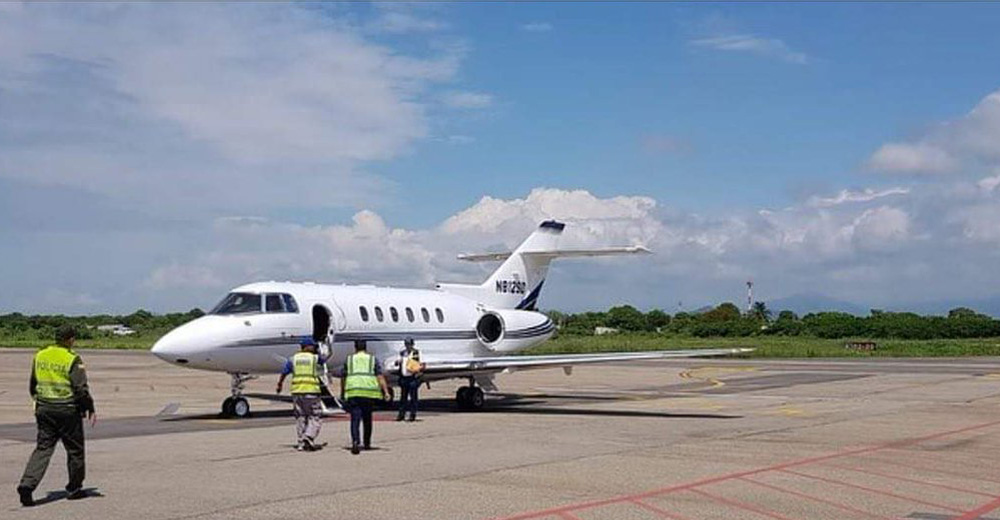 Jet privado de Silvestre Dangond.