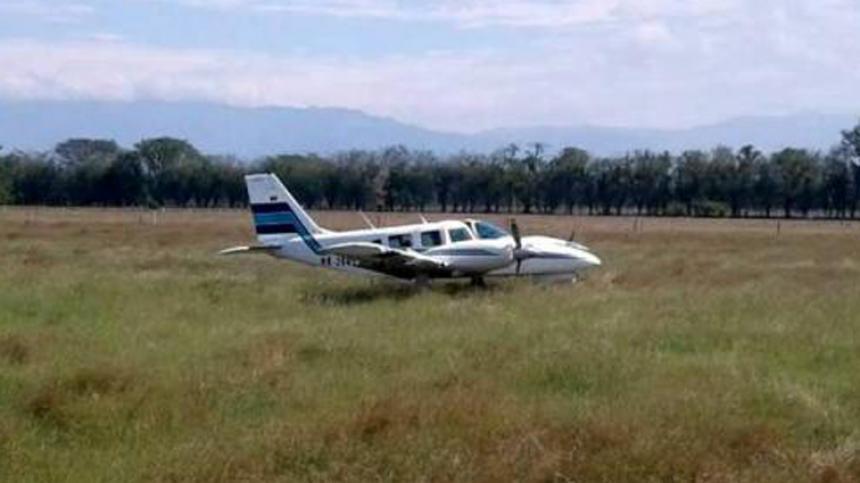 Avioneta procedente de Bucaramanga que había aterrizado en el aeropuerto Hacaritama de Aguachica.