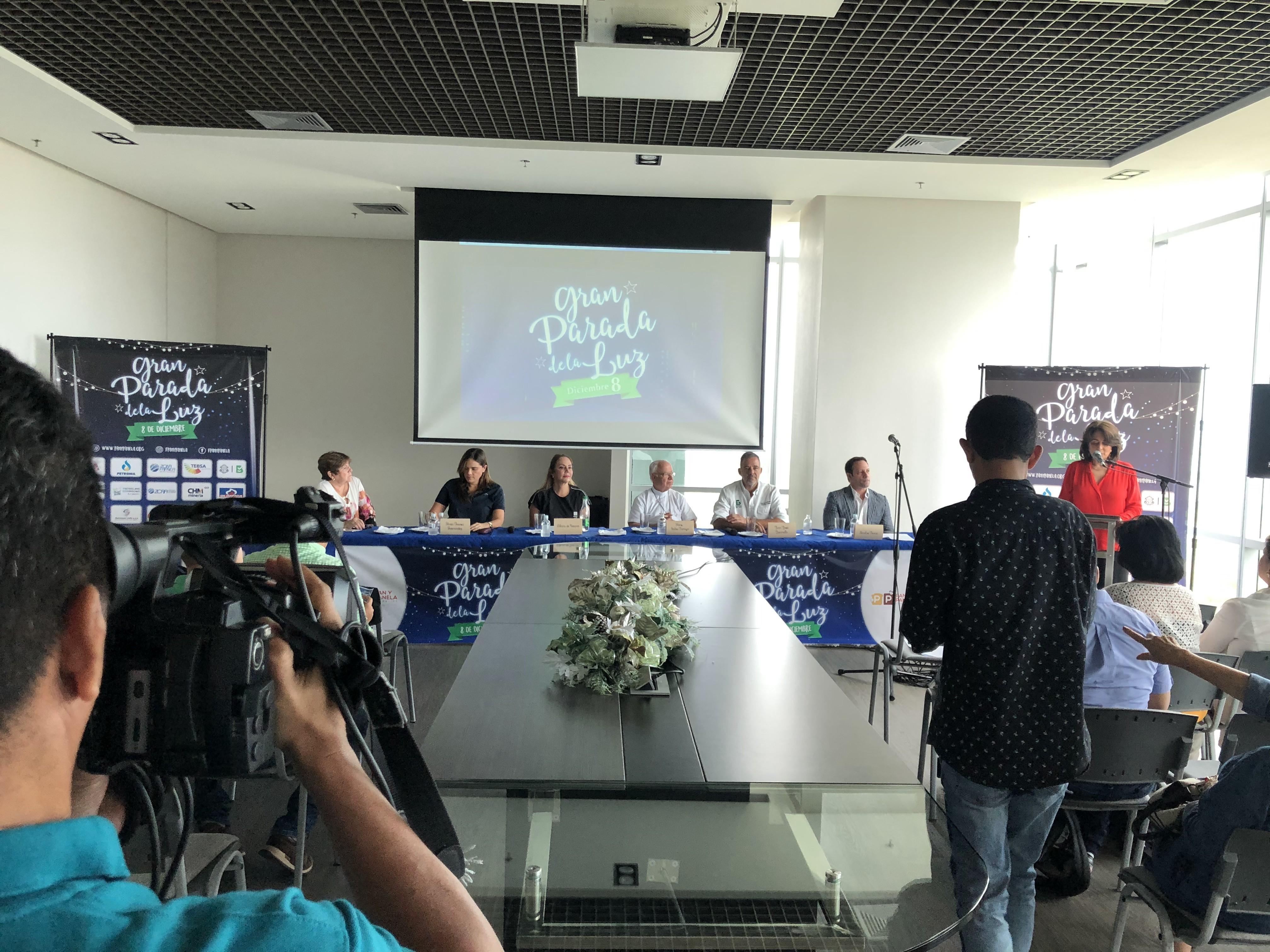 Rueda de prensa en el Centro Empresarial Buenavista.