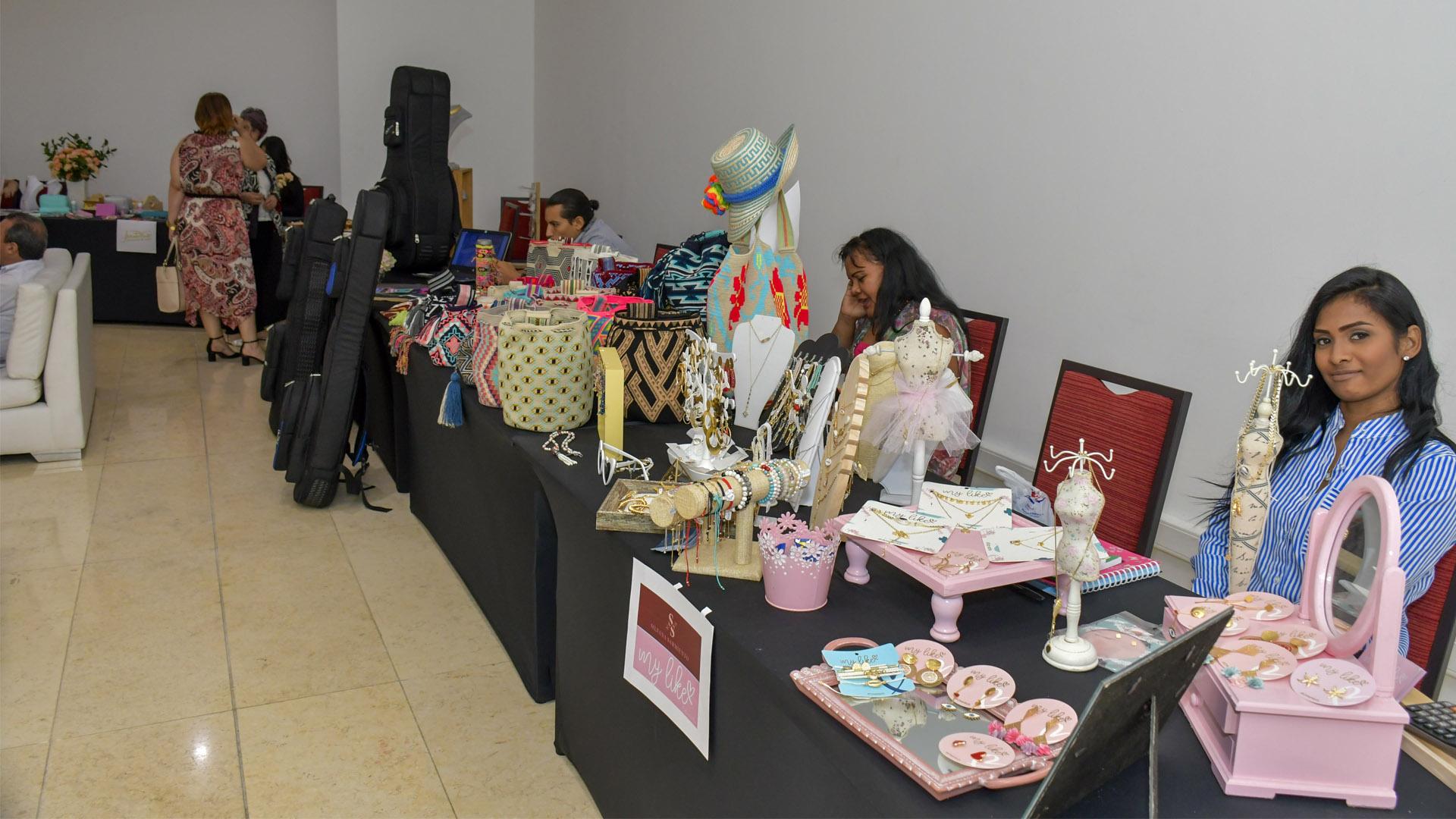 Empresas de Colombia  con sus productos en el BFA.