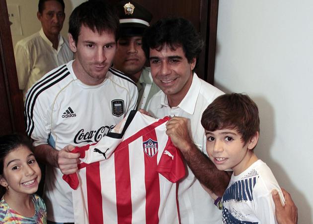 Messi quiere firmar con el Junior: Un equipo latinoamericano de calidad
