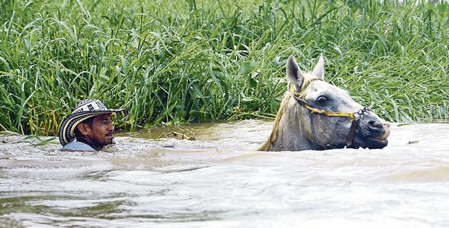 Resultado de imagen para cruzando el rio a caballo