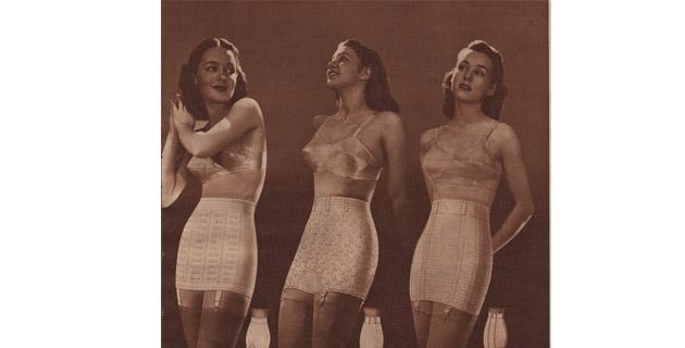 Las fajas se convirtieron en ropa interior en 1950 9b0787368c1b