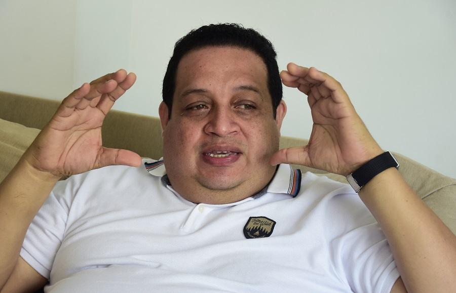 Braulio Tilano, productor y bajista.