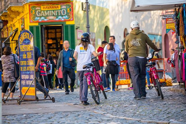 Caminito en Buenos Aires.
