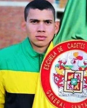 Andrés David Fuentes, fallecido.