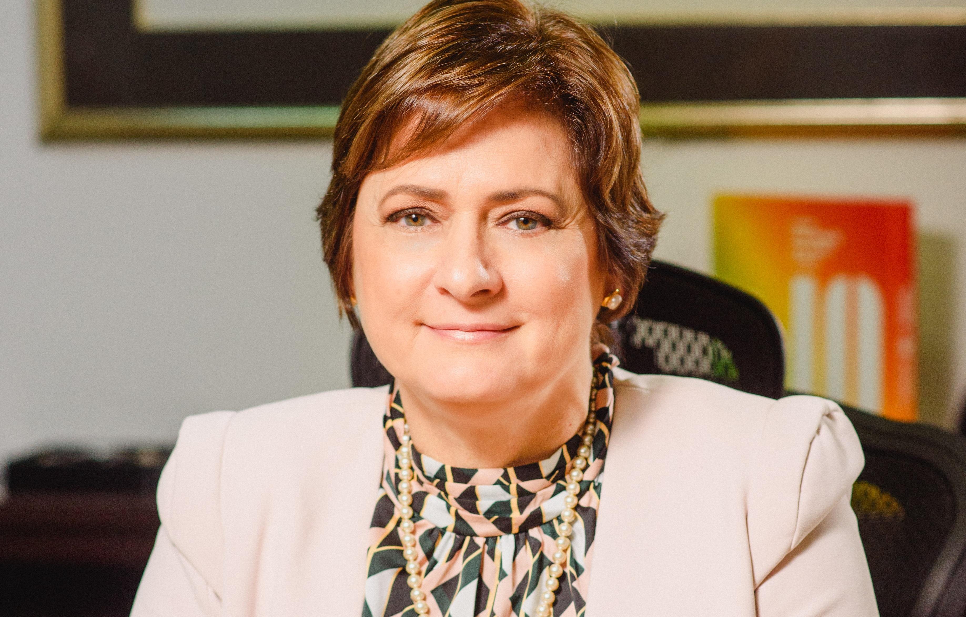 Carmen E. Hernández, presidenta de junta directiva de Monómeros.