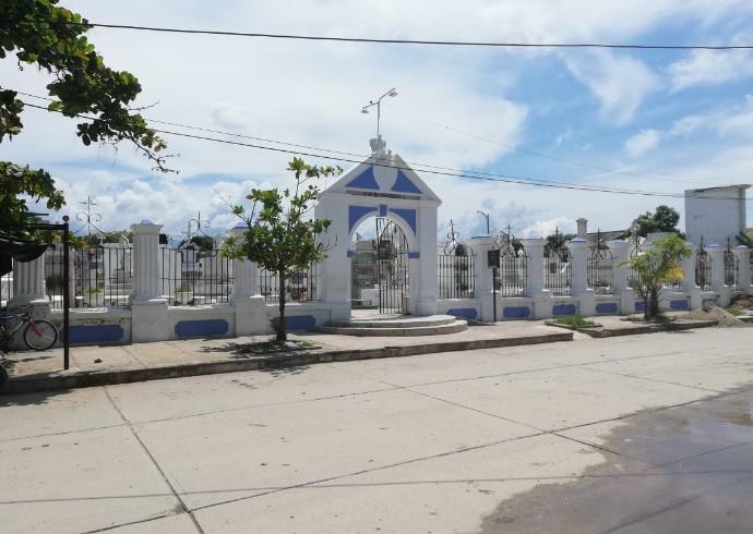 El 'cementerio de los ricos' de Ciénaga.
