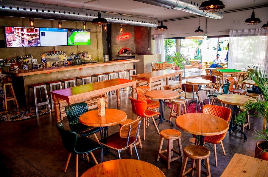 Bar Tresquince en el norte de Barranquilla.