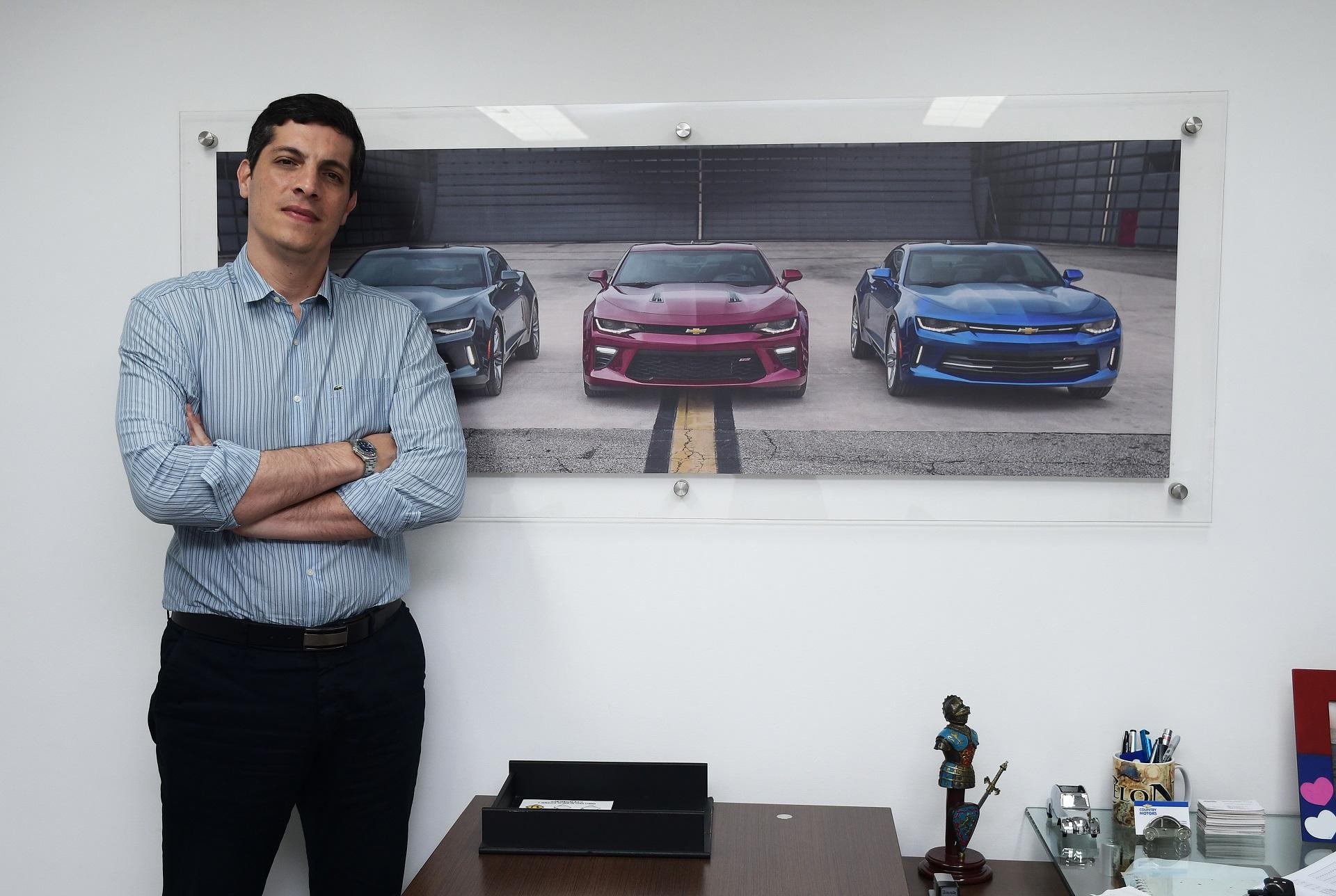 Santiago Alcocer, gerente de Country Motors