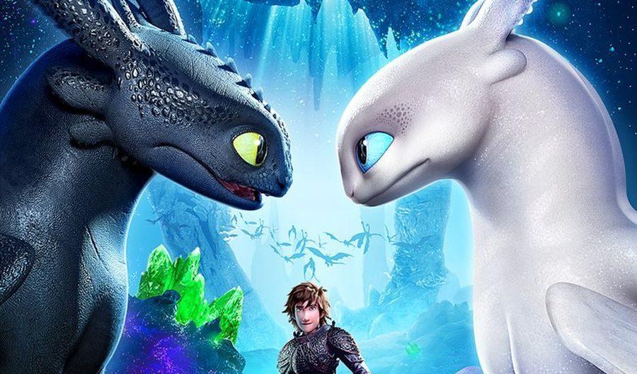 Cómo entrenar a tu dragón 3. Estará  en las salas de cine el 8 de marzo.
